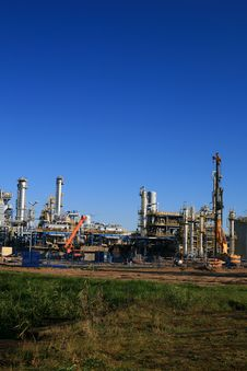Free Oil Refinery Stock Images - 3526234