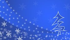 Free Blue Winter Background Royalty Free Stock Images - 3526239
