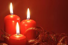 Free Three Candles Stock Image - 3526501