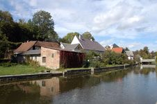 Free Houses By The River Stock Photography - 3527002