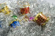Free Christmas Tree Decorations Royalty Free Stock Image - 3527106