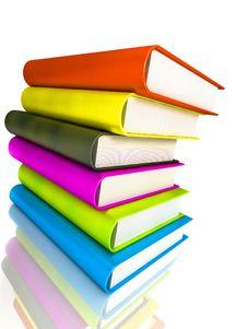 Free Colored Books Massive Stock Photos - 3527163