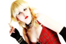 Free High Key Tough Blonde Stock Photo - 3527570