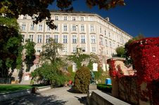 Gardens Of Prague Castle Stock Photography