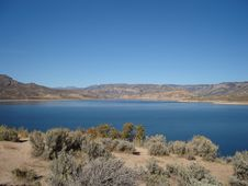 Blue Mesa Reservoir Royalty Free Stock Images