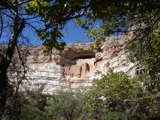 Montezuma Castle Royalty Free Stock Images