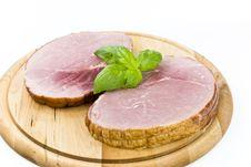 Free Smoked Ham Royalty Free Stock Photos - 3529468