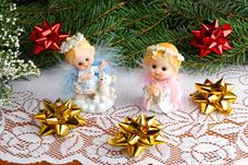 Free Christmas Angels Royalty Free Stock Image - 3529646