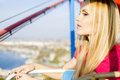 Free Beautiful Girl With Blond Hair Royalty Free Stock Image - 35206526