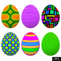 Free Set Easter Egg Royalty Free Stock Images - 35213399