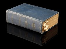 Free The Closed Ancient Book Royalty Free Stock Photos - 35213988