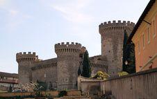Rocca Pia Castle Stock Photography