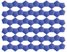 Free Blue Pattern Stock Image - 35218331