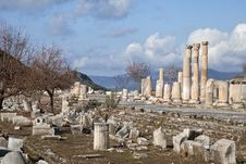 Free Ancient Greek Town Of Ephesus In Turkey Royalty Free Stock Photos - 35219758