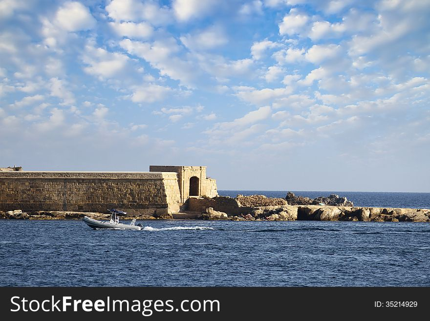 Tabarca island in Spain