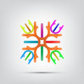 Free Abstract Icon Royalty Free Stock Image - 35227276