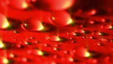 Free Red Drops Background Stock Photography - 35224562
