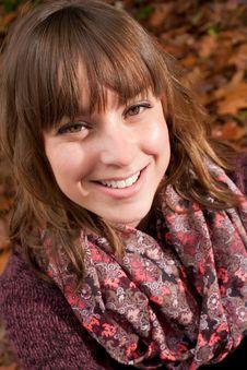 Free Happy Autumn Smile Stock Photos - 35225213