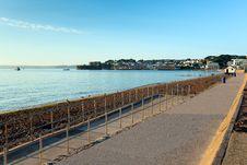 Free Paignton Beach Devon England Near Brixham Royalty Free Stock Photography - 35229147