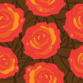 Free Vector Rose On An Abstract Background Stock Images - 35230224