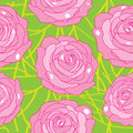 Free Vector Rose On An Abstract Background Stock Images - 35230324