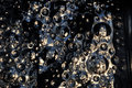 Free Bubbles On Glass Stock Images - 35231714