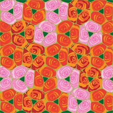 Free Vector Rose On An Abstract Background Stock Photos - 35230363
