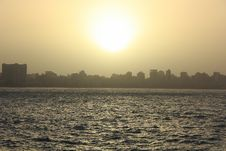 Free Sunset Over The Nile Royalty Free Stock Photography - 35232407