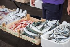 Free Fish Market Stock Photography - 35232612