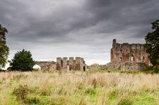 Free Norham Castle Stock Photo - 35233810