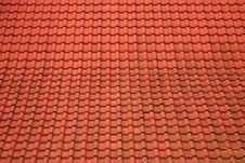 Free Roof From A Tile Stock Image - 35234451
