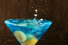 Free Martini Drink Stock Photography - 35236142