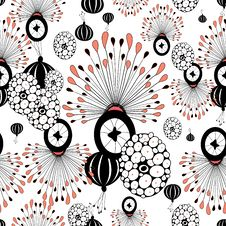 Abstract Floral Pattern Royalty Free Stock Images