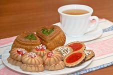 Free Morning Tea Royalty Free Stock Photos - 35237258