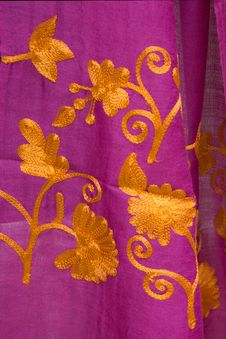 Free Beautiful Colorful Shawl Royalty Free Stock Images - 35238929