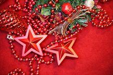 Free Christmas Star Background Stock Photo - 35240020