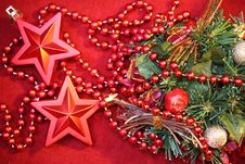 Free Christmas Star Royalty Free Stock Photos - 35240038
