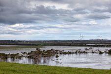 Free Flooding In Victoria, Australia Stock Photo - 35246640