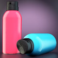 Free Two Spray Cans Royalty Free Stock Photos - 35257358
