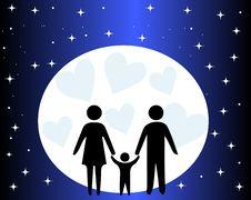 Free Happy Family Stock Photography - 35252722