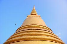 Free Gold Pagoda Royalty Free Stock Images - 35256519