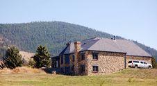 Free Stony Home In Montana Royalty Free Stock Image - 35259676