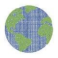 Free Vector World Wool Fabric Royalty Free Stock Photo - 35260645