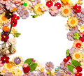 Free Handicraft Paper Flower Royalty Free Stock Photo - 35264985