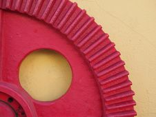 Red Gear Stock Photos