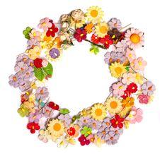 Free Handicraft Paper Flower Stock Image - 35264971