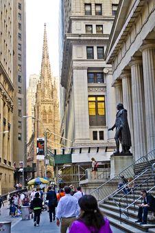 New York City Street Stock Photo
