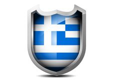 Free Flag Of Greece Royalty Free Stock Image - 35266796