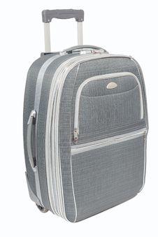 Free Travel Suitcase Isolated Stock Image - 35267811