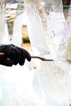 Free Ice Sculpting Stock Image - 35269531